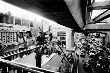 On my escalator, 2006