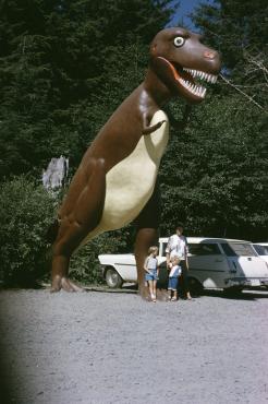 Dinosaure Park, 1968