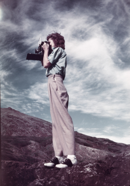 The photographer, 1945