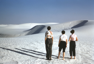 White sands, Middle 1950's