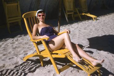 Beach life, 1955