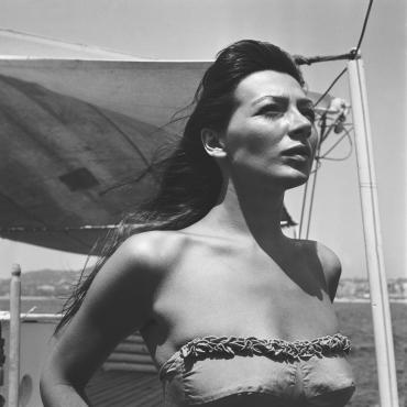 Années 50 : Juliette Gréco en vacances