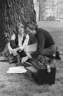 Françoise Hardy et Serge Gainsbourg, 1969