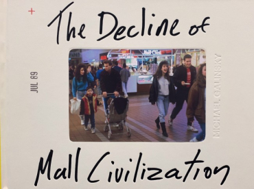 Michael Galinsky - The Decline of Mall Civilization