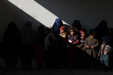 Les enfants de la clinique Chardi, Afghanistan, 2019