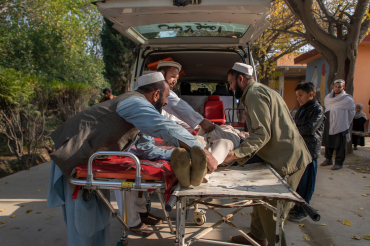 Ambulance, clinique, Ghani khel, Afghanistan, 2019