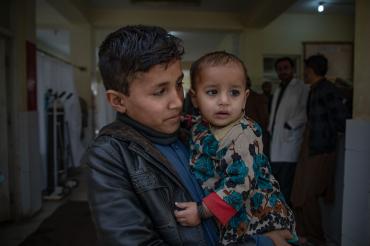 Frère et sœur, Khas Kunar, Afghanistan, 2019