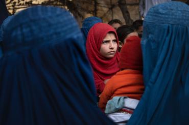 Jeune Afghane, Kama, Afghanistan, 2019