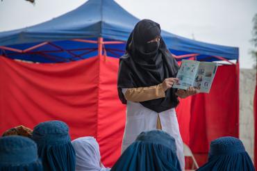 Cours de sensibilisation, Behsood, Afghanistan, 2019