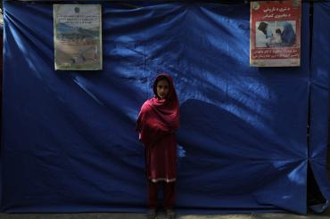 Petite fille de Kama, Afghanistan, 2019