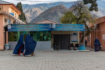 L'hôpital d'Asadabad, Kunar, Afghanistan, 2019
