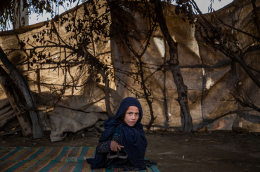 Petite fille afghane, Kama, Afghanistan, 2019