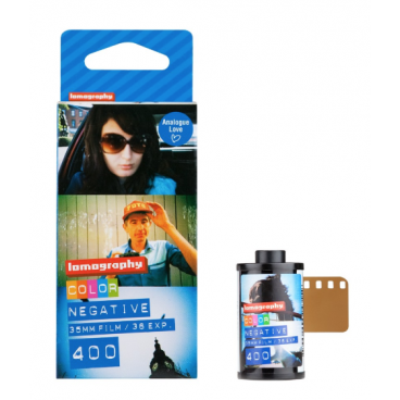 Pellicule Color Negative 35 mm. Pack de 3