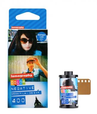 Pellicule Color Negative 35 mm. Pack de 3