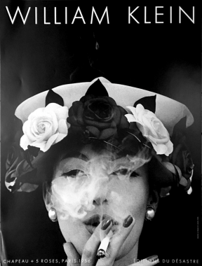 Chapeau + 5 roses, Paris, 1956