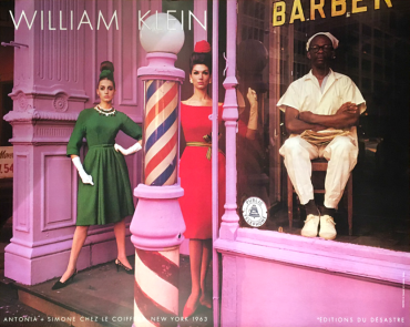 Antonia + Simone barber shop, 1963