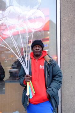Balloon Vendor, 2018