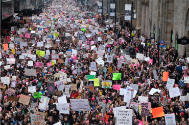 Women's March in New York City, 2017