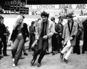 Rock'n roll attitude, Londres, 1972