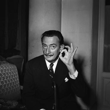 Salvador Dali, Paris, 1953