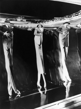 Fred Astaire, Gracie Allen et Georgie Porgie, New York, 1937