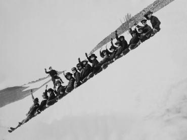 A l'assaut du mont Rainier, Etats-Unis, 1945
