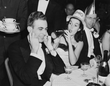 Drôle de réveillon, Etats-Unis, 1940
