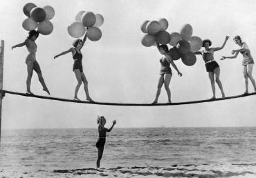 Jeux de plage, Californie, 1932