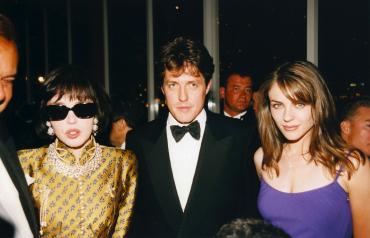 Isabelle Adjani, Hugh Grant et Elizabeth Hurley, 1997