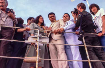 Mohamed Ali à Cannes, 1976