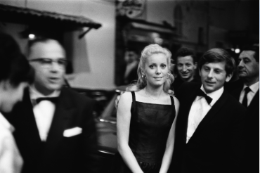 Catherine Deneuve et Roman Polanski à Cannes, 1965