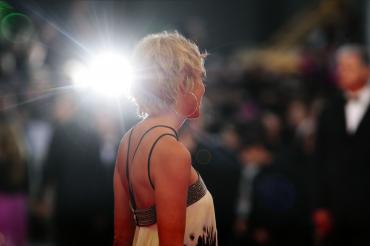 Sharon Stone à Cannes pour le film