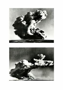 Essais atomiques dans les îles Monte Bello, Australie, vers 1960