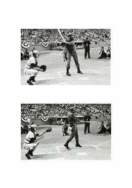 Castro, champion de baseball, La Havane, 1963