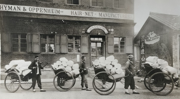 Shang Tung hair-net Factory, Chine, vers 1920