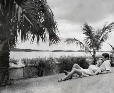Lune de miel aux Bermudes, vers 1960