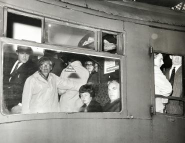 Chaos à la gare de Waterloo, 1963