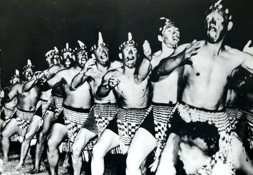 La danse Harka des Maoris