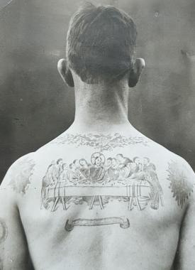 La Cène tatouée, vers 1925-1930