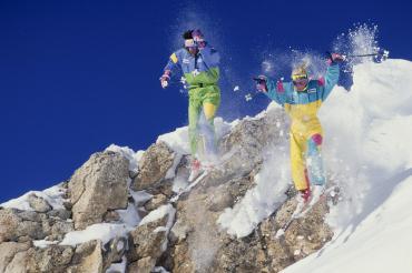 La skieuse acrobatique française, Raphaëlle Monod, 1991