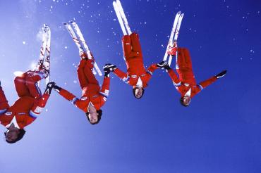Ski acrobatique, 1982