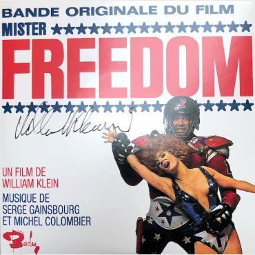 45 tours signé - Bande originale du film Mister Freedom