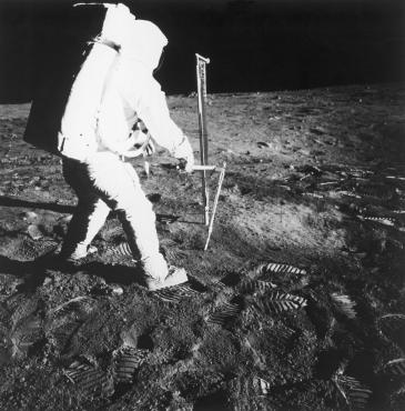 Aldrin à l'ouvrage, 1969