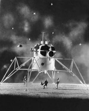 Un projet de module d'excursion lunaire en 1963