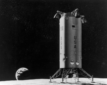 La Terre depuis la lune, 1970