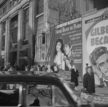 Publicité pour le film « Notre-Dame de Paris », 1956