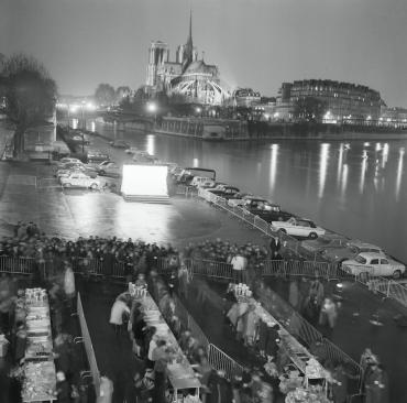 Le Noël des « clochards », 1968