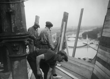 Travaux à Paris, 1935