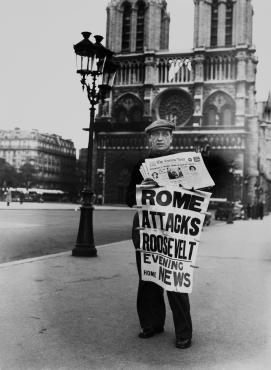Le vendeur de journaux, 1939