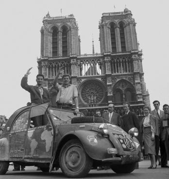 Le retour des lyonnais, 1954